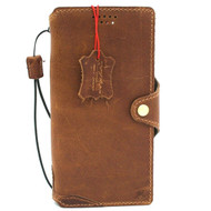 Genuine Tan Leather Case for Samsung Galaxy Note 20 Ultra Book Soft Wallet Cover Cards Slots Holder Luxury Rubber Slim Vintage Style 5G Davis