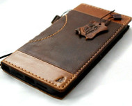 Genuine Full  Leather Case for iPhone 11 Pro Max Wallet Cover Credit Cards Slots Stand Rubber Slim DavisCase