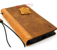 Genuine Soft Leather Wallet Case For Apple iPhone 11 PRO MAX Tanned Suede Cover Credit Wireless Charging Strap Book Prime Rubber Slim ID Window Davis