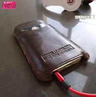 genuine leather case for iphone 5 cover purse iphone5 pull HANDMADE RETRO STYLE