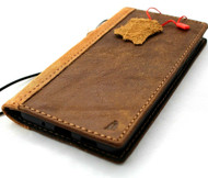 Genuine Leather Wallet Case for Samsung Galaxy Note 20 Ultra 5G book cover Cards wireless charging ID window luxury rubber Tanned Suede Design Davis