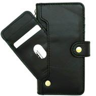 Genuine Black Leather Wallet Case for Google Pixel 5 Book Cards Holder Retro Stand Luxury wireless charging 5G Davis 1948