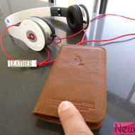 genuine leather case fit iphone 4s cover purse pouch s 4 3G 3 book wallet stand