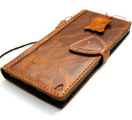 Genuine Leather Case for Google Pixel 6 Pro Book Wallet Full Cards Holder Suede Style Stand Luxury Davis HandMade 1948