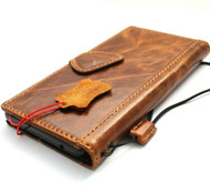 Genuine Leather Case for Google Pixel 6  Book Wallet Full Cards Holder Suede Style Stand Luxury Davis HandMade 1948 r