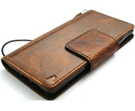 Genuine Leather Case for Google Pixel 6 Book Wallet Full Cards Holder Suede Style Stand Luxury Davis HandMade 1948 Art
