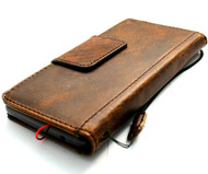 Genuine Leather Case for Google Pixel 6 Pro Book Wallet Full Cards Holder Suede Style Stand Luxury Davis HandMade bM