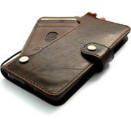 Genuine Leather Case for Google Pixel 6 Pro Book Wallet Full Cards Holder Suede Style Stand Luxury Davis DE