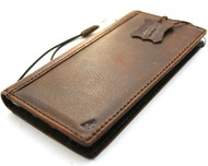 Genuine Leather Case for Google Pixel 6 Pro Book Wallet Full Cards Holder Suede Style Stand Luxury Davis HandMade Slim IL