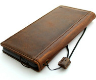 Product - Genuine Leather Case for Google Pixel 6 Book Wallet Full Cards Holder Suede Style Stand Luxury Davis HandMade 1948