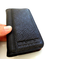 genuine leather case fit iphone 4s cover purse pouch s 4 3gs book wallet stand