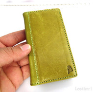 genuine real leather case for iphone 4s cover purse bag s 4 book wallet 3 3s id