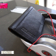 Genuine real leather black color Samsung Galaxi S3 S3 SIII s 3 book case cover with wallet creditcard holder (SG3LC95) s3