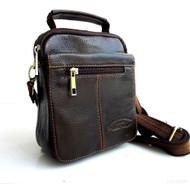 Genuine full Leather Shoulder Satchel Bag Messenger vintage cool cross body s m