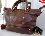Genuine real leather woman bagdar purse tote hobo lady handbag style copact bag
