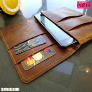 genuine real leather case FIT nokia lumia 920 book wallet cover pouch handmade 3