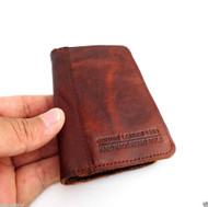 genuine natural leather case for iphone 4s cover purse pouch s 4 3G book wallet stand