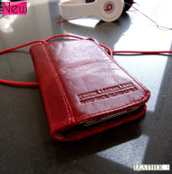 iphone 4  4s red wine genuine soft italy leather