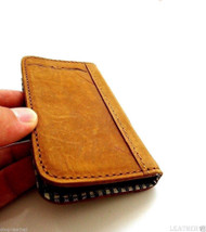 Genuine natural leather case for samsung galaxy NOTE 2 II cover purse pouch book wallet stand GANOTE2
