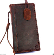 genuine vintage leather Case for nokia lumia 920 book wallet stand holder new
