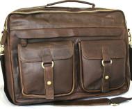 Genuine natural Leather Shoulder Satchel Bag handbag woman man 13 12 laptop 11