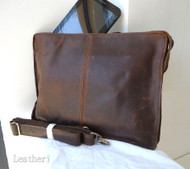 GENUINE Leather HAND Bag FIT iPad mini Business man LAPTOP TABLET 2 3 retro new