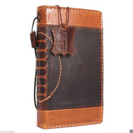 genuine vintage leather Case for Samsung Galaxy S6 Edge Plus book wallet sport cover 6 slim s football brown daviscase