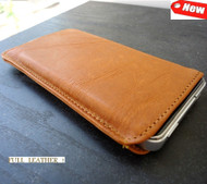 real leather case fit for iphone 4s cover purse pouch s 4 brown pull brown top