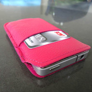 genuine leather case fit iphone 4s cover purse pouch s 4 pink 3g 4g woman style