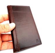 genuine full leather Case for Samsung Galaxy S4 IIII s 4 book wallet handmade au