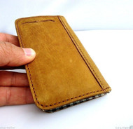 genuine italy leather case for iphone 5s cover book wallet creditcards id free shipping