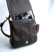 Genuine full Leather Shoulder Bag strap Messenger small cross man woman tote 8 7