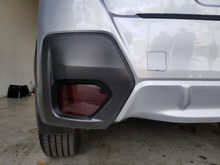 Precut Smoked Rear Reflector Overlays Tint (2018+ Crosstrek XV / Impreza)