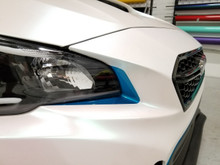 Under Headlight Eyelid Overlay Kit (2018+ WRX/STI)