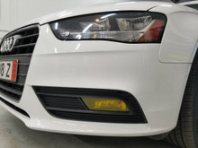 Yellow Fog Light Overlays (13-16 Audi A4/S4)