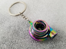 Neo Chrome Turbo Turbine Keychain