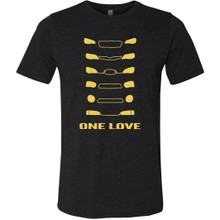 One Love T-Shirt - Black
