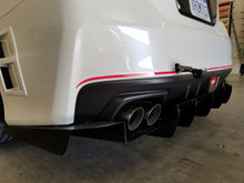 S208 rear bumper Pin Stripe