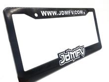 JDMFV License Plate Frame