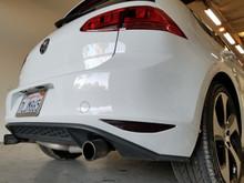 Smoked Rear Bumper Reflector Overlays Tint (15-18 Golf/GTI