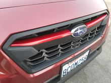 RED ABS Plastic Grille  Accent Trim Covers (2018+ Crosstrek)