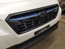 Quartz Blue Pearl ABS Plastic Grille  Accent Trim Covers (2018+ Crosstrek)