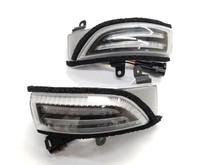 Sequential Mirror Turn Signals with DRLs - CLEAR