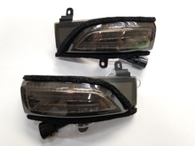 Sequential Mirror Turn Signals with DRLs - Smoked