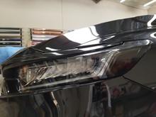 Smoked Amber Delete Head Light Overlays Tint (2018+ Accord Sedan)