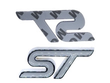 White ST Trunk Emblem Replacement