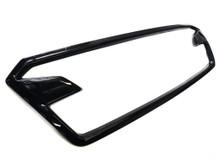 Gloss Black ABS Plastic Grille  Accent Trim Frame (2018+ Crosstrek)