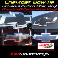 Chevrolet Bow Tie Emblem Front/Rear Vehicle Wrap Overlays