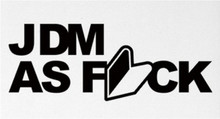 JDM as fck Decal/Sticker