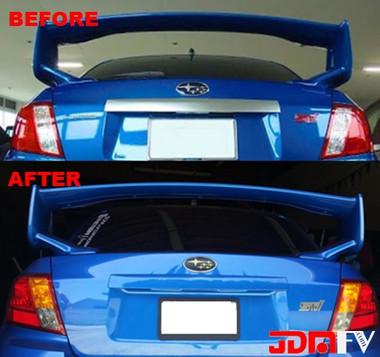 Rear Trunk Trim Chrome Delete Carbon Fiber Amp Color Matched